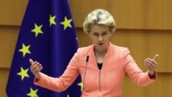 Ursula von der Leyen opinó que los turistas estadounidenses ya inmunizados deberían poder ingresar a la UE en los próximos meses.