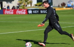 Messi y sus compañeros conviven dentro de una burbuja de bioseguridad preparada en el predio de la Selección Argentina.