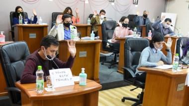 Manos. La sesión en el Concejo Deliberante, sin temas candentes.