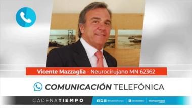 El Dr. Vicente Mazzaglia.