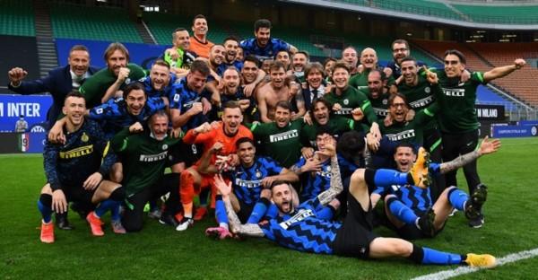 Inter de Milán celebró su decimonoveno