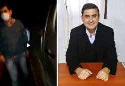 El intendente de ciudad misionera de Eldorado, Fabio Martínez, fue detenido hoy por manejar borracho.
