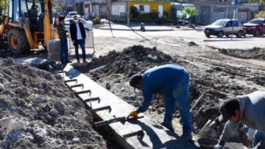 Se trabaja sobre la traza urbana, en limpieza y desmalezamiento.