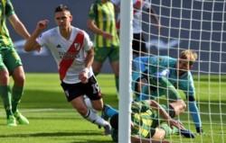 Aldosivi que lo complicó pero River supo resolver en los últimos minutos con la contundencia goleadora que se le exigía y reprochaba no tener.