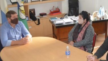 El encuentro, ocurrido la semana pasada, se desarrolló en el despacho del intendente capitalino.
