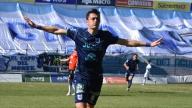 El experimentado Leandro González le dio la victoria a Gimnasia de Jujuy.
