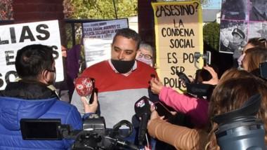 Elías Saavedra luego de la sentencia en contra. Apelará y cuestionó la lentidi de la Justicia en otros casos.