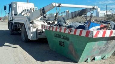 Podrán depositar chatarra, escombros, maderas, residuos eléctricos.