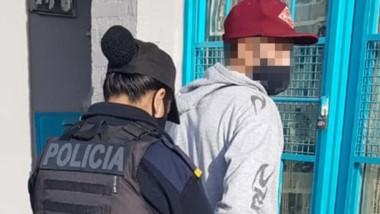 Procedimiento. Personal policial logró la detención del sospechoso.