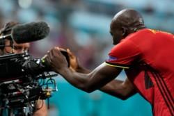 El momento exacto: tras marcar en la Euro, Lukaku gritó ante la cámara un