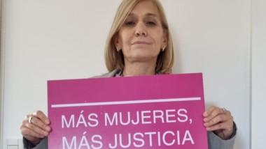 La jueza penal portuaria Patricia Reyes realzó la campaña.