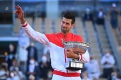 El número uno del mundo por primera vez se consagró en un torneo de Grand Slam después de perder los dos primeros sets.