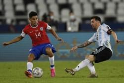 Lionel Messi y Eduardo Vargas dieron a Argentina y Chile su primer punto en esta edición de la Copa América.