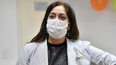 """""""Uno piensa en una nueva cepa pero no nos consta que esté en circulación"""", aseguró Mariela González."""