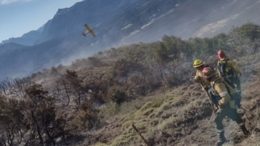 Más recursos. También habrá fondos para mejorar la infraestructura de combate contra incendios.