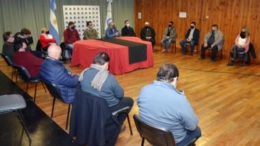 El ministro de Agricultura, Ganadería y Pesca estuvo en Esquel.