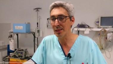Omar Melgarejo, director del Hospital de la localidad de Dolavon.