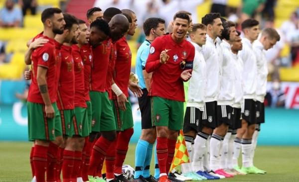 Bestia negra. Cistiano Ronaldo con Portugal nunca ha podido puntuar ante Alemania.