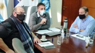 El ministro de Agricultura fue el anfitrión de la reunión referida al Viejo Expreso Patagónico.