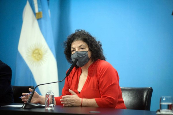 Carla Vizzotti anunció que comenzará a envasarse en el país la vacuna rusa Sputnik V.
