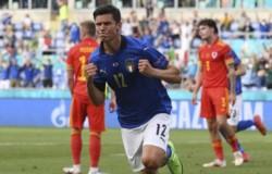Matteo Pessina marcó el gol que abrió el marcador en Roma.