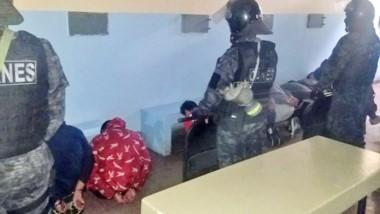 La requisa se llevó a cabo en el pabellón 2 de la Alcaidía Policial.