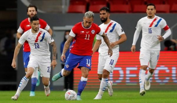 Los clasificados de este grupo: Argentina, Paraguay, Chile y Uruguay (Bolivia oficialmente eliminada).