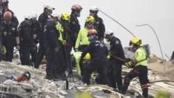 Miami se aferra a un milagro para encontrar a los 159 desaparecidos en el edificio derrumbado.