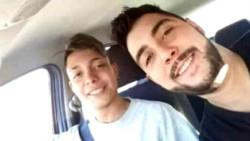La policía de Mendoza confirmó que los dos cuerpos hallados pertenecen a Kevin Álvarez, de 18 años, y Franco Álvarez, de 28.