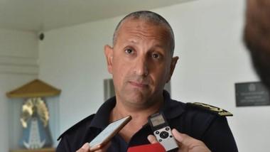 Paulino Gómez, director policial.