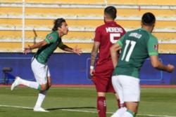 Marcelo Martins continúa marcando para Bolivia y en el reinicio de las Eliminatorias le anotó un doblete a Venezuela.