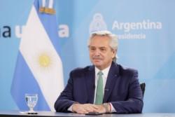 El presidente Alberto Fernández aseguró que