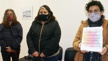 Las docentes Cristina Erblich, Susana Lizondo y Paula Quijano.