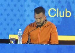 Entre lágrimas, Tevez anunció que deja de jugar en Boca.