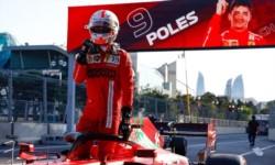 Leclerc hizo la pole en una accidentada clasificación. Ferrari se quedó en lo más alto en la jornada .