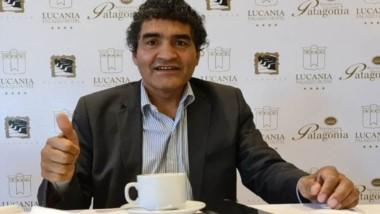 """Jorge """"Locomotora"""" Castro  visitó Comodoro Rivadavia, donde brindó una variada y colorida  charla."""