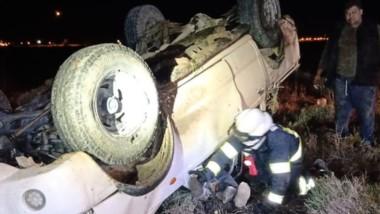La camioneta tuvo múltiples daños. En el paragolpes, chasis y puertas