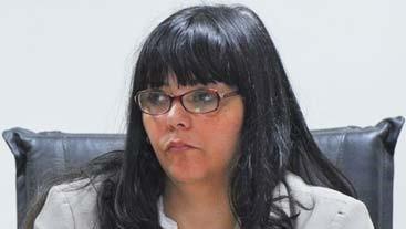 Mariel Suárez. Jueza de la causa.