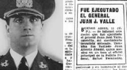 Día de la lealtad. A la Constitución y al peronismo, el de Juan José Valle.
