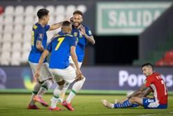 Brasil ganó todo lo que jugó hasta el momento y lidera en soledad.