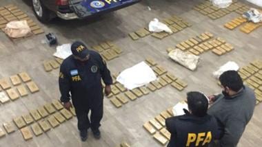 La droga se guardaba en un galpón de Quilmes y luego se distribuía.