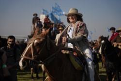 Participaron en la protesta del campo, la titular del PRO, Patricia Bullrich.