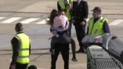 Leo Messi llegó a Rosario y se fundió en este emocionante abrazo con Antonela.