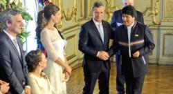 Macri alguna vez recibió al entonces presidente Evo Morales. Pero después...