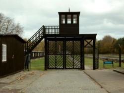 La 'puerta de la muerte' del campo de Stutthof.