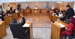 Decisión. Los concejales de Trelew, en una sesión especial, aprobaron por mayoría la cesión de los macizos.