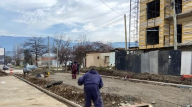 El intendente Pogliano destacó asimismo el plan de obras Argentina Hace,  que es financiado por Nación.