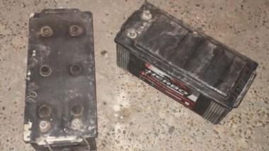 Las baterías habían sido sustraidas de un camión el 13 de julio pasado.