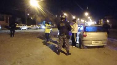 Cuatro fueron los sectores barriales donde la Policía y la APSV trabajaron durante este fin de semana.