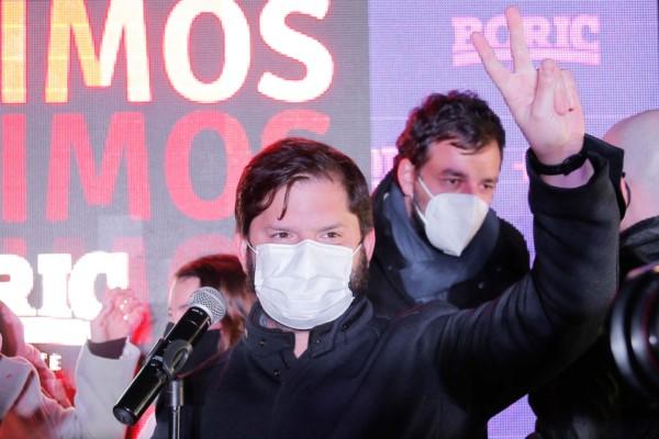 Gabriel Boric, el líder vencedor del pacto izquierdista Apruebo Dignidad